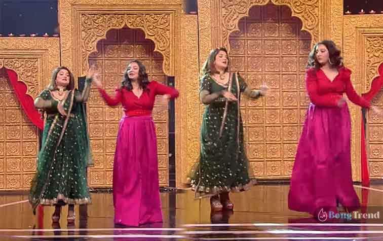 শুভশ্রী গাঙ্গুলি Subhashree Ganguly শ্রাবন্তী চ্যাটার্জী Srabanti Dancing in Dance bangla dance