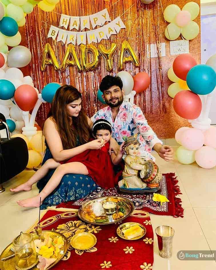 Anik Dhar Daughter Birthday Celebration