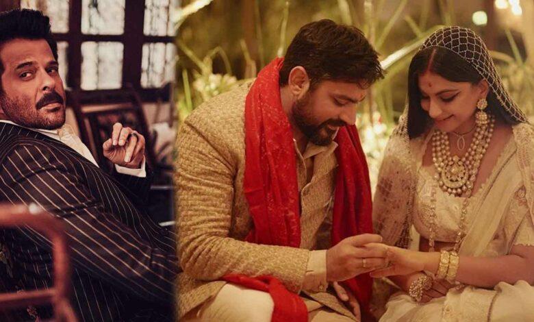 অনিল কাপুর রিয়া কাপুর Anil Kapoor sad after daughter rhea kapooor wedding