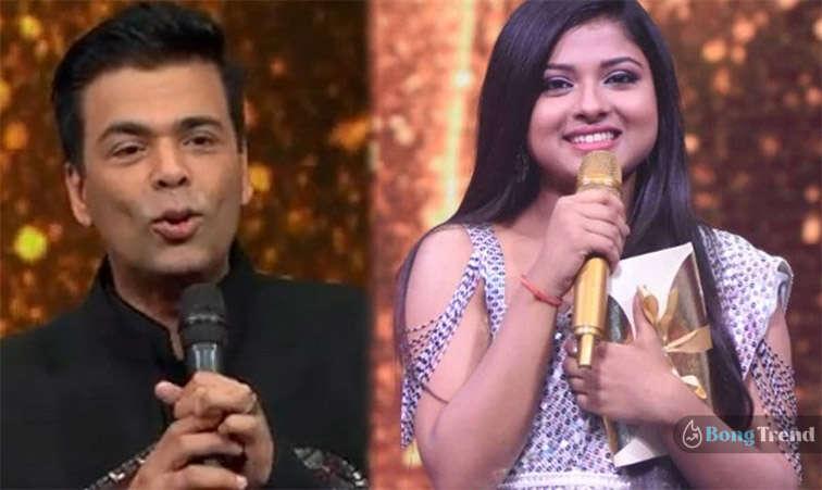 Karan Johar offered Arunita Film song on Indian Idol 12 Semi finals