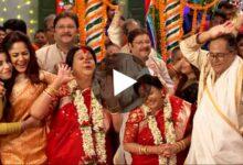 Photo of বয়সকে গুলি মেরে গুনগুনের সাথে পাল্লা দিয়ে নাচলেন 'সদ্য বিবাহিত' শ্বশুর শাশুড়ী! ভাইরাল ভিডিও