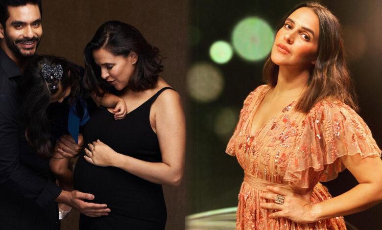 Neha Dhupiya Second pregnancy baby bump