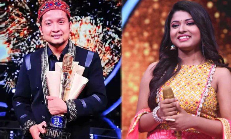 Pawandeep Rajan Wins Indian idol 12 arunita comes second