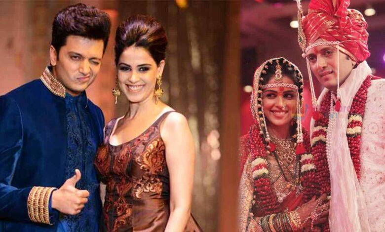 Ritesh Deshmukh Had to tough genelia feet on wedding