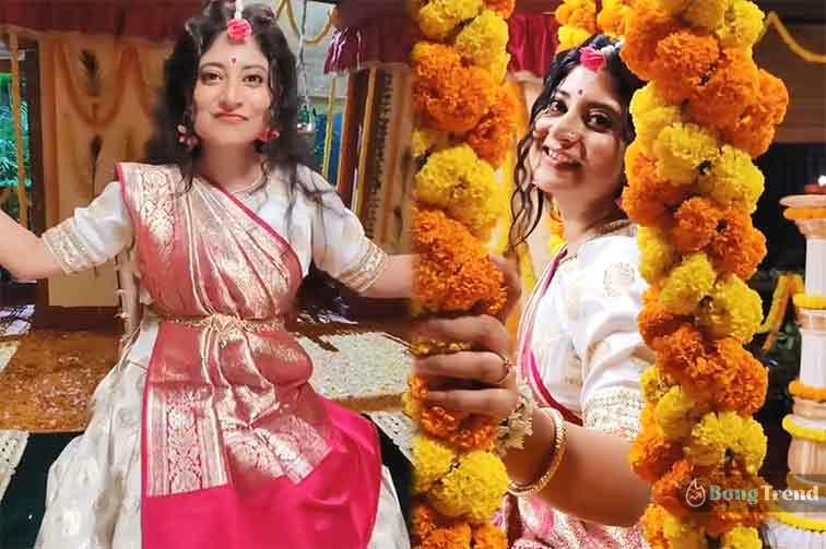Sandipta Sen as Radha Reel Video
