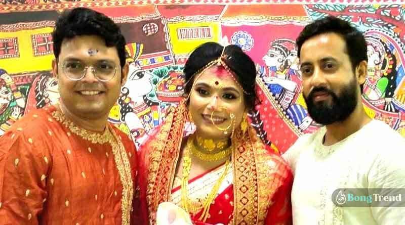 Rani Rashmoni actor Sidharth Ghosh wedding