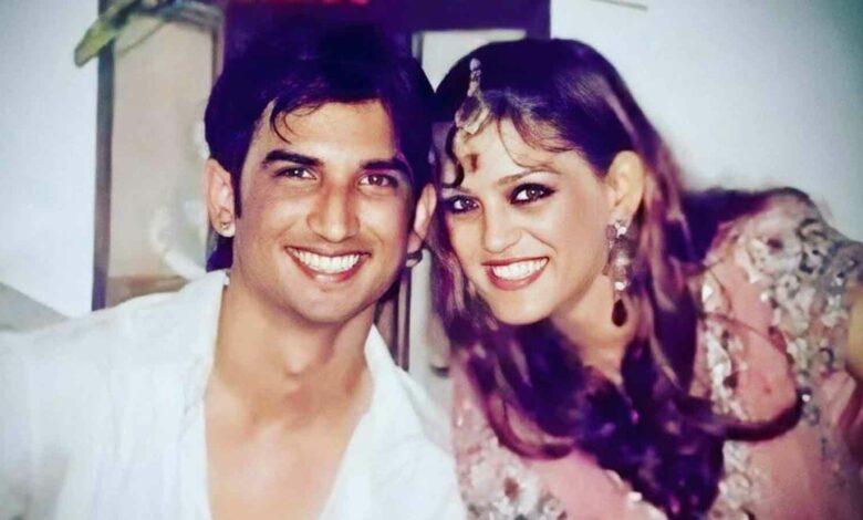 Sushant Singh Rajput With SIster Sweta