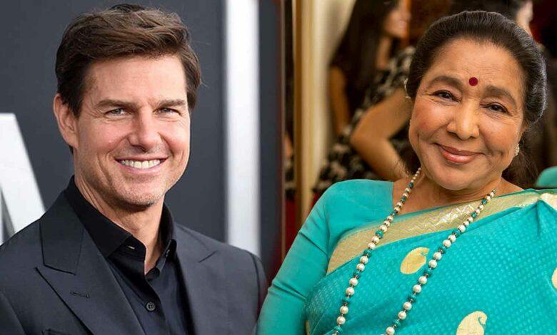 Tom Cruise eats at Asha Bhosle's Birmingham resturant Asha's
