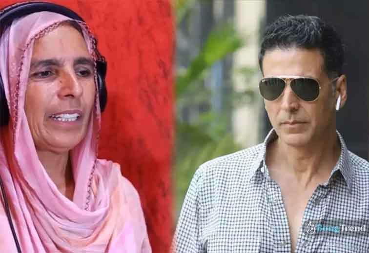 Woman Looks like Akshay Kumar