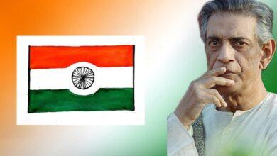 Photo of ভারতের জাতীয় পতাকা বদলয় চেয়েছিলেন সত্যজিৎ রায়! নিজের হাতে এঁকে ডিজাইন করেছিলেন নতুন পতাকাও