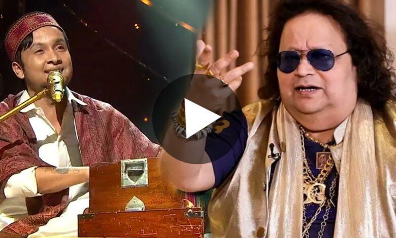 Bappi Lahiri gave pawandeep golden chain