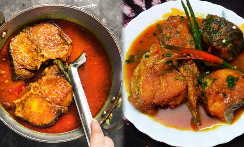 Jhale Jhole Boal Recipe ঝালে ঝোলে বোয়াল মাছের রেসিপি