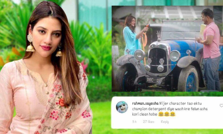 Nusrat Jahan Trolled for Champian Detergent Advertisement