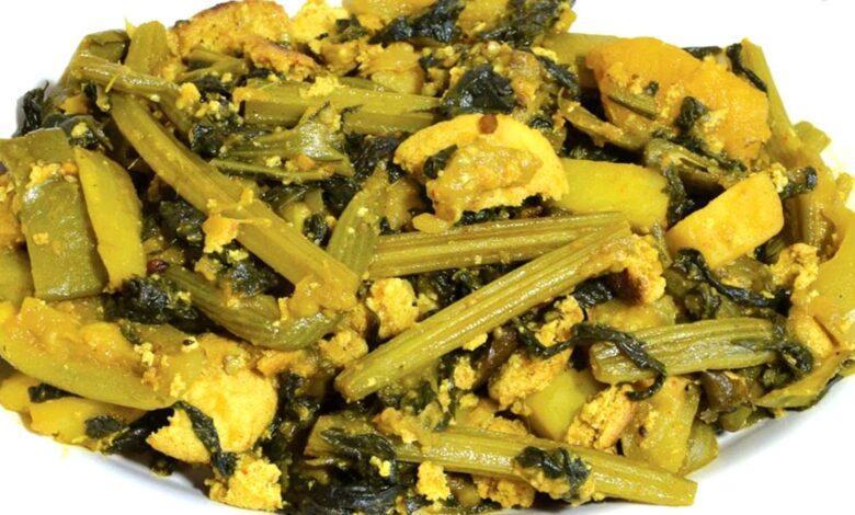 Posto Lau Shaag Recipe পোস্ত দিয়ে লাউ শাক