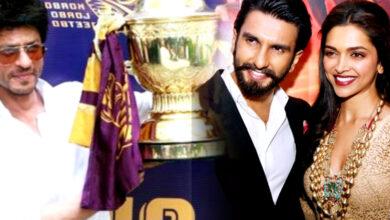 Photo of টাকার নেশায় অভিনয় ছেড়ে খেলার মাঠ! শাহরুখের দেখাদেখি IPL টিম কিনতে চান রণবীর-দীপিকা
