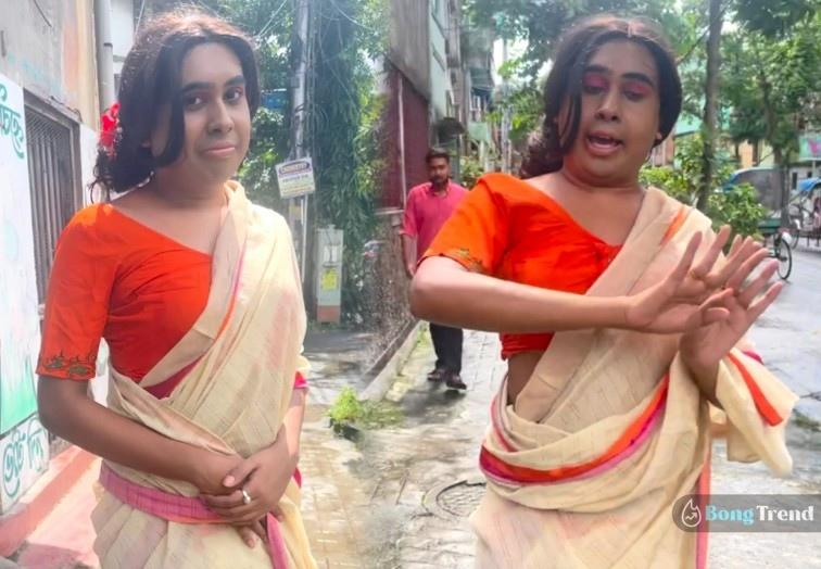 Sandy Saha Momo Chitte Viral Video