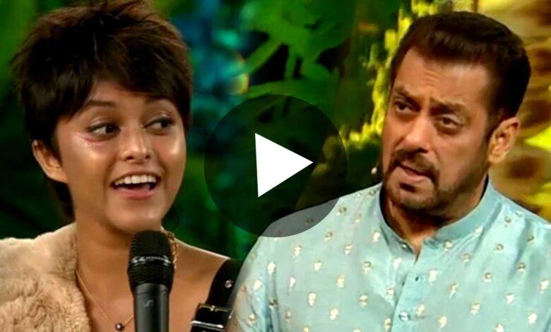 Bigboss 15 Yohani teaches Salman Khan to sing Manike Mage Hithe